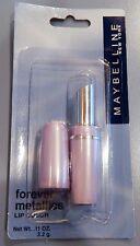 1 Maybelline Forever Metallics Lipcolor Lipstick - Rare - Coral 60 - NEW