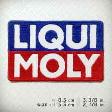 LIQUI MOLY Embroidered Patch Iron on Jacket T-shirt Cap Motor Oil Sports Raceing