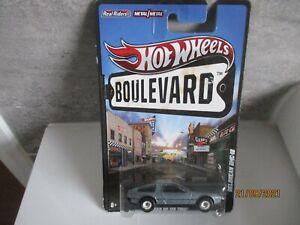 HOTWHEELS RARE 2011 BOULEVARD DELOREAN DMC 12 ALLOYS  RUBBER TYRES