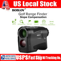 BOBLOV LF600AG 6x22 Golf Range Finder + Slope Compensation 650Yard Telescope