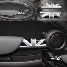 Mini One Cooper R55 R56 R57 R58 R59 Poignée de porte capot Union Jack Black
