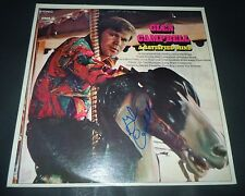 GLEN CAMPBELL~A Satisfied Mind~Signed Album~Excellent~Photo Proof