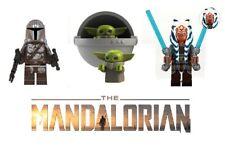 THE MANDALORIAN Lot of 3 GROGU (Baby Yoda) Mando Ashoka Tano