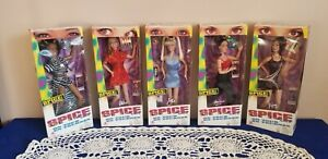 5 New in box Spice Girls on tour Dolls