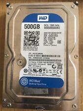 """WESTERN DIGITAL WD 5000 AAKX 500 GB Sata 3.5"""" HDD Envío rápido"""