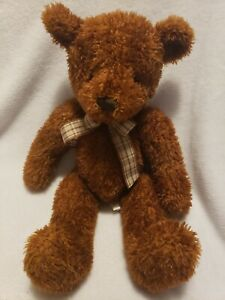 "14"" Applause by Russ ""Kachmer"" The Sitting Brown Bear Soft Stuffed Plush #49385"
