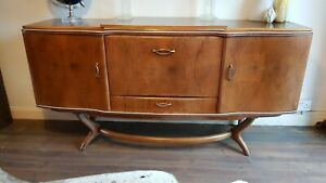 Mid Century Beautility dining sideboard with cutlery draw for dining cocktails