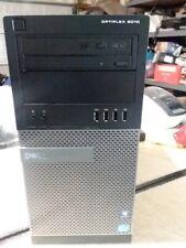 Dell 9010 Tower Intel i7 3770 3,40GHz 16GB RAM 128GB SSD & 500GB HDD Win 10 Pro