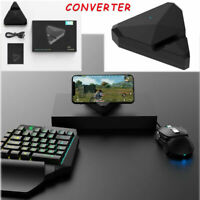 Wireless PUBG Mobile Phone Gaming Keyboard Mouse Converter for Android IOS Games