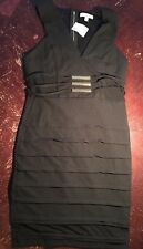 Love Republic Black Dress Size Large Back Zip Sleeveless NWT