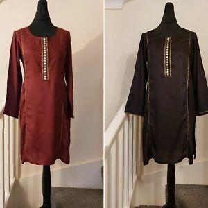 Women Pakistani kurta indian kurti tunic top dress