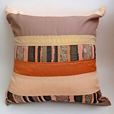 "3pcs/lot throw pillow cover cushion case orange brown gold pink 18x18""45x45cm"