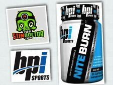 BPI Nite Burn Thermo Fat Burner 30 Caps | Shred Matrix | Hydroxycut | Cuts |