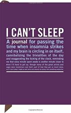 Knock Knock I Can't Sleep Mini Inner-Truth Journal by Knock Knock 1601063431 The