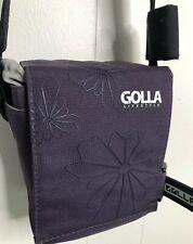 "Golla Purple Camera Bag 7""Tall 6""Wide 4""Deep Exterior 6""X 5""X 3"" Interior"