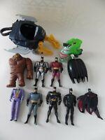 Lot jouets FIGURINES vintage incomplet ou pour custom BATMAN KENNER