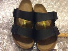 BIRKENSTOCK ARIZONA BIRKO-FLOR BLACK WOMEN'S U.S. 6M(NORMAL) EU 37(4000)