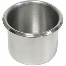 Trademark Poker Lot Of 10 Stainless Steel Cup Holders W
