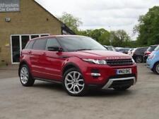 Land Rover Range Rover Evoque Saloon Cars
