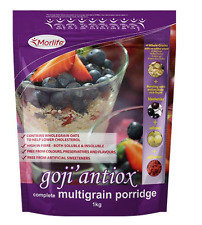 Morlife Goji Antiox Multigrain Porridge 1kg | Goji Berries | Fibre