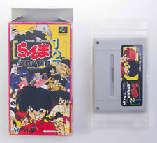 Ranma 1/2 Bakuretsu Rantou Hen Nintendo Super Famicom SFC SNES Region Free w Box