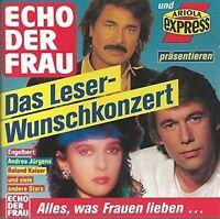 Echo der Frau: Das Leser-Wunschkonzert (1989) Engelbert, Andrea Jürgens, .. [CD]