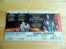 1997 Michael Jackson History World Tour London Wembley Stadium Unused Ticket
