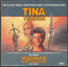 MAD MAX BO FILM TINA TURNER WE DON'T NEED ANOTHER HERO 45T SP CAPITOL 2007137