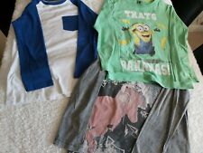 Boys Long Sleeved T Shirt Bundle Age 8-9
