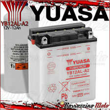 BATTERIA YUASA YB12AL-A2=A 12V 12Ah MALAGUTI MADISON 250 2004