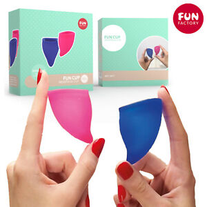 Fun Factory Cup Menstrual Explore Kit Size A+B 20 30 ml Silicone Period Cups