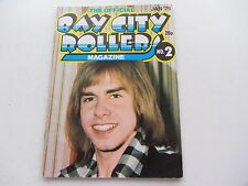 THE BAY CITY ROLLERS MAGAZINE No   2 JANUARY 1975