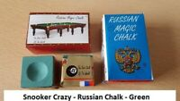 1 Cube of Green Russian Magic Chalk - Free Mainland UK Delivery