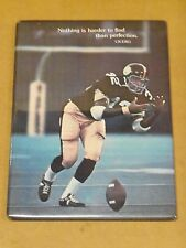 FRANCO HARRIS, Pgh Steelers, 1974 Hallmark Card, Plastic Cover w/Easel, Scarce