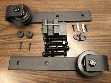 Brookswood Sliding Wood Barn Door Hardware Roller Set Hardware (Bending Design)