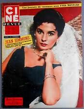 ►CINE REVUE 48/1957-JEAN SIMMONS-TONY PERKINS-JEANNE MOREAU-MARIA MAUBAN-BARDOT