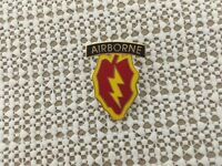 US ARMY 25TH INFANTRY DIVISION AIRBORNE HAT PIN