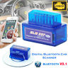 Mini Bluetooth Car Scanner OBD2 ELM327 V2.1 Android Torque Auto Tool OBD-II UK