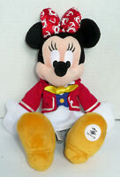 AUTHENTIC WALT DISNEY CRUISE LINE MINNIE MOUSE PLUSH WDW 12 INCHES TALL