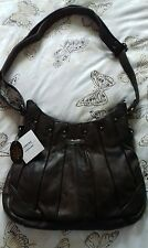 Lorenz Brown Leather Bag. Brand New