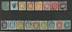 NORWAY SMALL COLLECTION EARLY F/U STAMPS