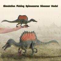 Larger Fishing Spinosaurus Simulation Dinosaur Model Figure Realistic Kids Toy
