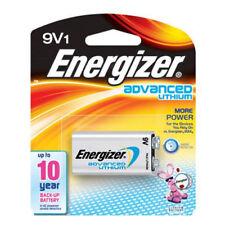9 Energizer 9v lithium batteries