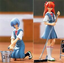 Evangelion Figures Ver.2 Cleaning Time Rei Ayanami & Asuka Langley completed set