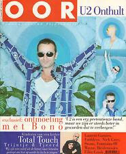 MAGAZINE OOR 1997 nr. 05 - U2 / SWANS / NICK CAVE / HEIDEROOSJES / TOTAL TOUCH