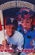 POSTER:MLB BASEBALL: A-ROD & I-ROD- DOUBLE TROUBLE TEXAS RANGERS - #5164  RC18 H