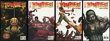 Zombies Eclipse of the Undead comic set 1-2-3-4 lot walking dead Bagged Boarded