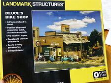 Woodland Scenics O Scale #5895 Deuce's Bike Shop (Kit Form)