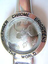 """New listing Antique Chrome Adv. Hilfinger Chrome Letter Opener/8 5/8"""""""
