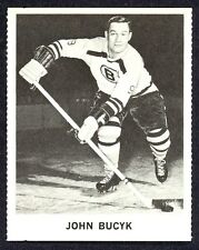 1965 COCA-COLA COKE JOHNNY BUCYK EX-NM BOSTON BRUINS HOCKEY CARD